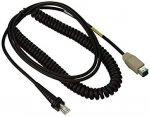 Honeywell USB cable, black, 5m, coiled