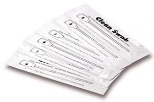 Zebra cleaning foam tip swabs