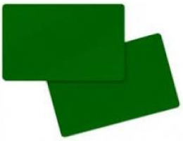 Zebra Premier Card, green
